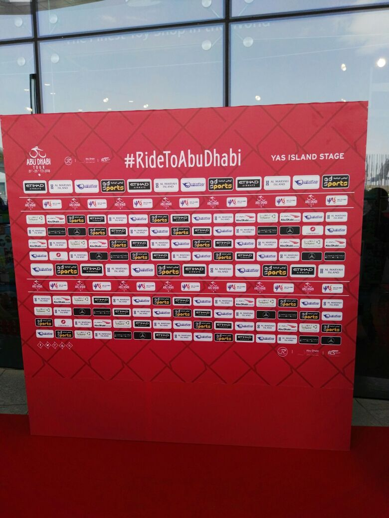 our participation in Abu Dhabi Tour 2018