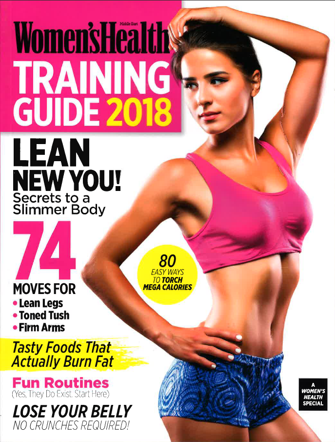 Women's Health TRAINING GUIDE 2018
