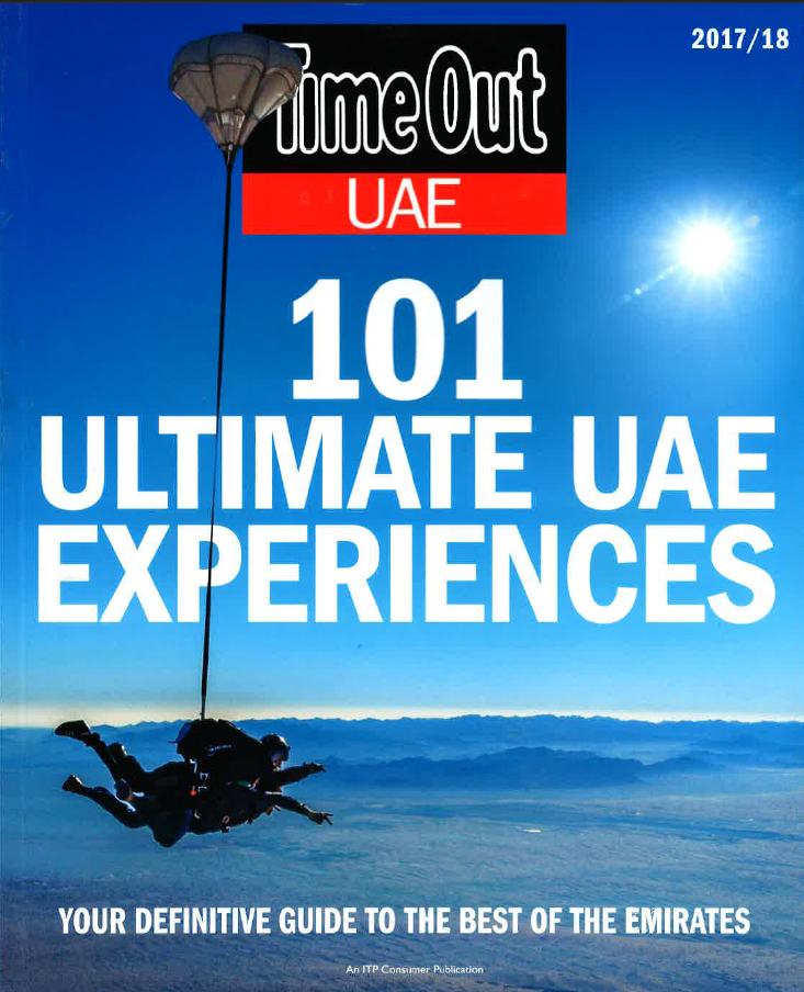 Time Out 101 UAE Ultimate Experience