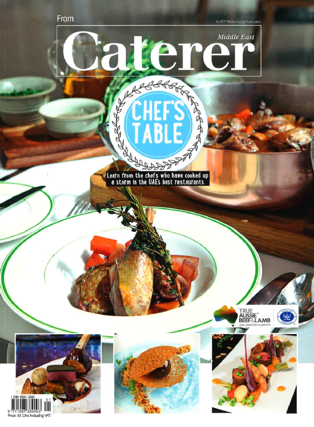 Chef's Table (From Caterer)